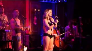 The Skivvies and Amy Spanger - Fancy