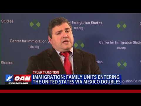 IMMIGRATION: Family Units Entering the United States Via Mexico Doubles
