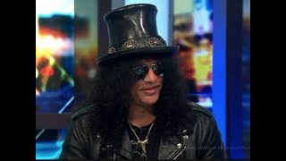 Guns N' Roses Slash Talks About Buckethead & His Thoughts on His Playing