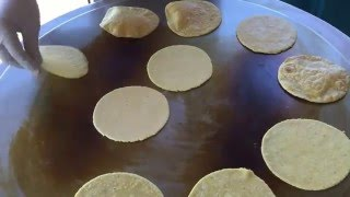 How To Make Corn Tortillas With Masa And A Tortilla Press Youtube