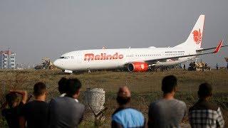 Malindo Air plane skids off runway at Kathmandu airport