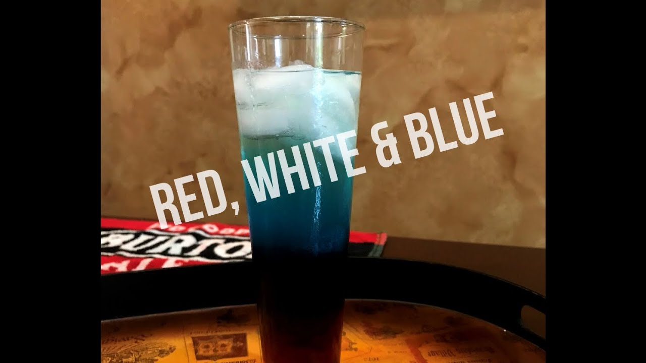 Red, White & Blue Cocktail