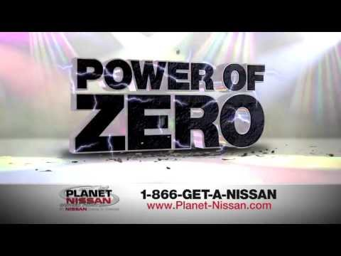 "Planet Nissan ""Power Of Zero"" Spot"