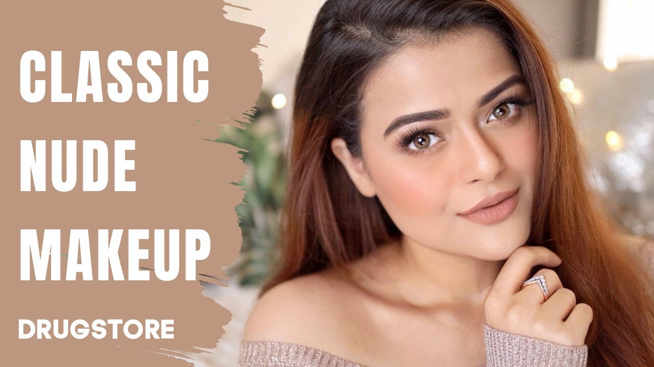 Download DEWY SKIN NUDE MAKEUP WITH DRUGSTORE PRODUCTS | NATURAL GLAM