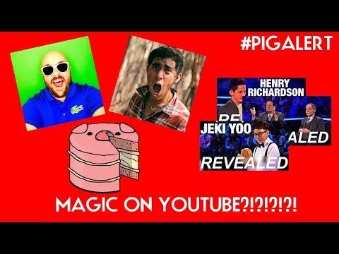 #PIGALERT MAGIC ON YOUTUBE?!? EVANERATV! AGT PENN & TELLER EXPOSED WEATHER