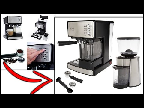 Mr. Coffee Cafe Barista Espresso and Cappuccino Maker, First Cup! ☕
