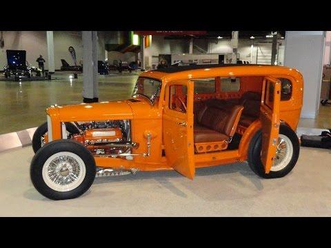 Ford Door Highboy Sedan Custom Hot Rod At World Of Wheels