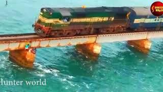 Top Ten Beautiful Train tracks In India one among them in Kerala|Sabarimala Temple||Hunter world