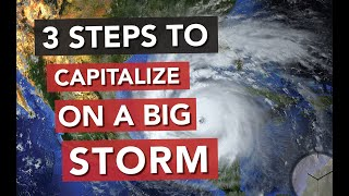 3 Steps to Manage a Hurricane, Derecho or Any Huge Storm