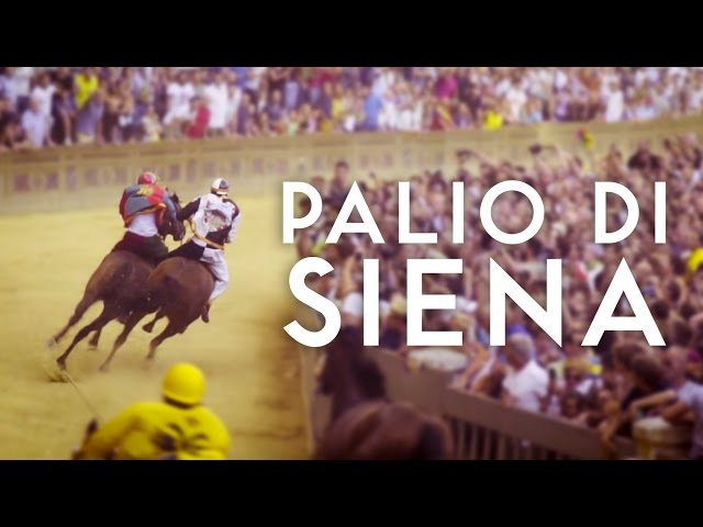 PALIO DI SIENA | Italy's Oldest Horse Race | 2016