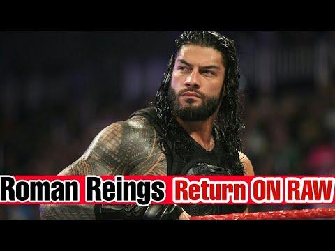 Roman Reings Back ON RAW & Insult Stephanie || WWE RAW 14 November 2017 ||
