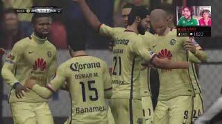 CLUB AMERICA vs MONTERREY EN DIRECTO GOLES CLAUSURA FIFA 16 LIGA BANCOMER MEXICO