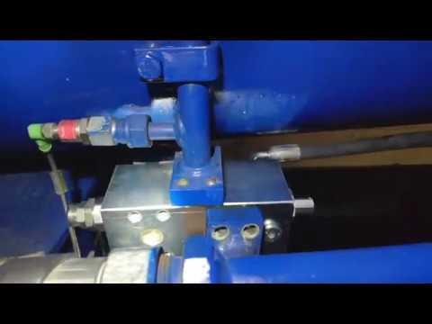 Новый тормозной клапан на цилиндр подъема стрелы.