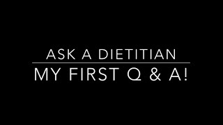Ask a Dietitian.. My First Q&A about Cravings, Macros, Fat Vs Sugar, Cereal Bars, Gluten & More!