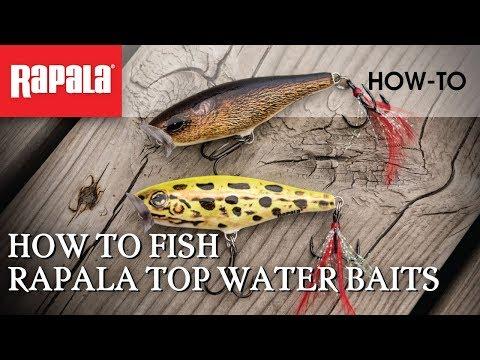 How To Fish Rapala Topwater Baits | Rapala Fishing Tips