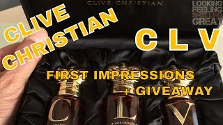 Clive Christian C L V First Impressions + Samples Giveaway CLOSED