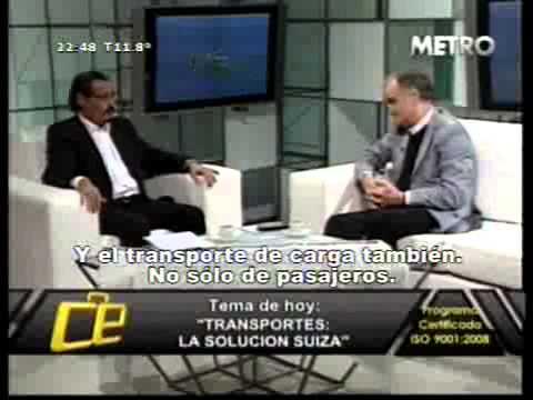 """EMISION 217 - """"TRANSPORTES: LA SOLUCION SUIZA"""""""