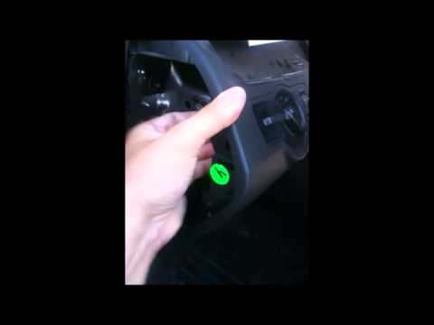 Replacing parking brake switch on a 06+Passat/CC