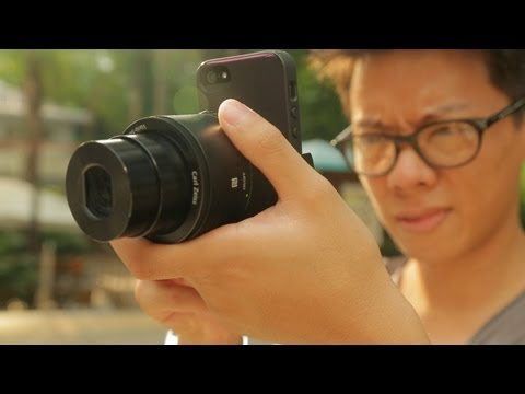 Sony QX100 Hands-on Review