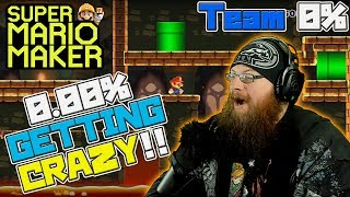 0.00% UNCLEARED LEVELS GETTIN' CRAZY? - Super Mario Maker - OSHIKOROSU TAKES ON TEAM 0% LEVELS!