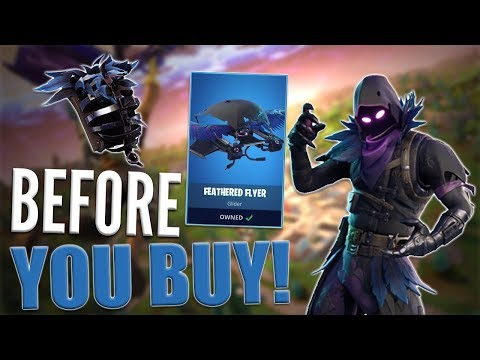 Raven  Feathered Flyer  Before You Buy  Fortnite