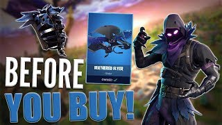 Raven | Feathered Flyer - Before You Buy - Fortnite