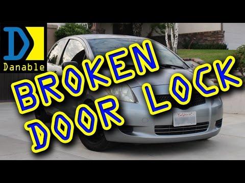 6 Toyota Highlander 2005 Power Door Lock Actuator Fix