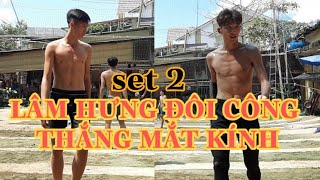 LÂM HƯNG đôi công THẮNG MẮT KINH set 2(Sân bóng chuyền chợ điều biên hòa đồng nai)