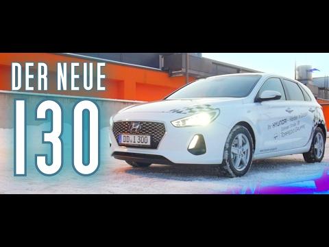 Der neue Hyundai i30 Der Test Fahrbericht Review Deutsch 2017