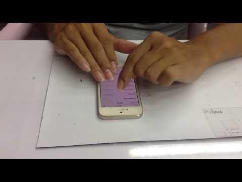 iPhone 5S ไม่มีสัญญาณ ตกน้ำ ส่งมาจาก ทุ่งครุ บางมด มาที่ช่างตั้มนนทบุรี