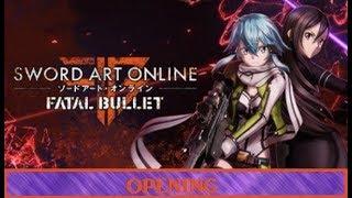 Sword Art Online Fatal Bullet Opening Thrill Risk Heartless
