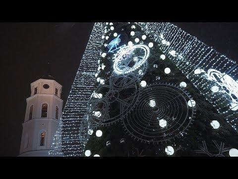 Vilniaus Kalėdinių eglučių įžiebimas