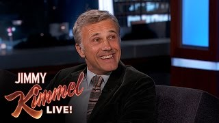 Christoph Waltz on His Friendship with Quentin Tarantino thumbnail