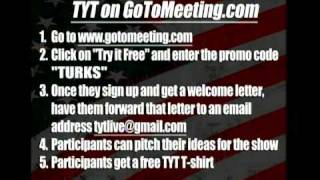 Talk to Cenk @9pm ET LIVE (3/24/11)!  (Instructions for GoToMeeting)