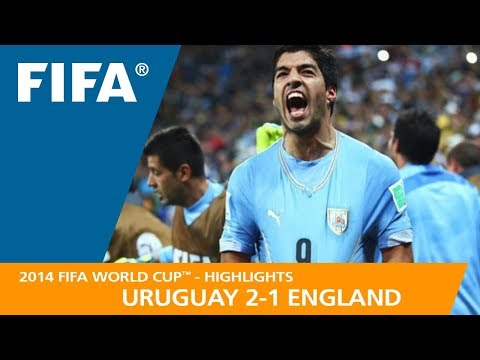 URUGUAY V ENGLAND (2:1) - 2014 FIFA World Cup™