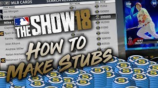 How to Make Stubs Fast in MLB The Show 18 (Tips & Tutorial) thumbnail