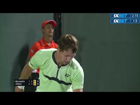 ATP - SIMPLES: Miami (EUA) Radu Albot x Ricardas Berankis