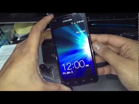 Samsung Galaxy S II LTE Unboxing-Rogers-Canada