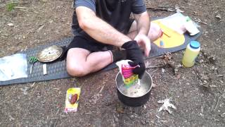Red Beans With Rice : Appalachian Trail Style
