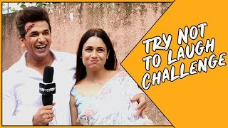IWMBuzz: Try Not To Laugh challenge with Prince Narula and Yuvika Chaudhary