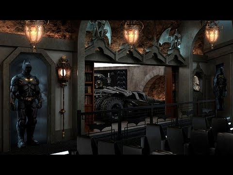 Real Dark Knight Batcave Made By Millionaire Youtube