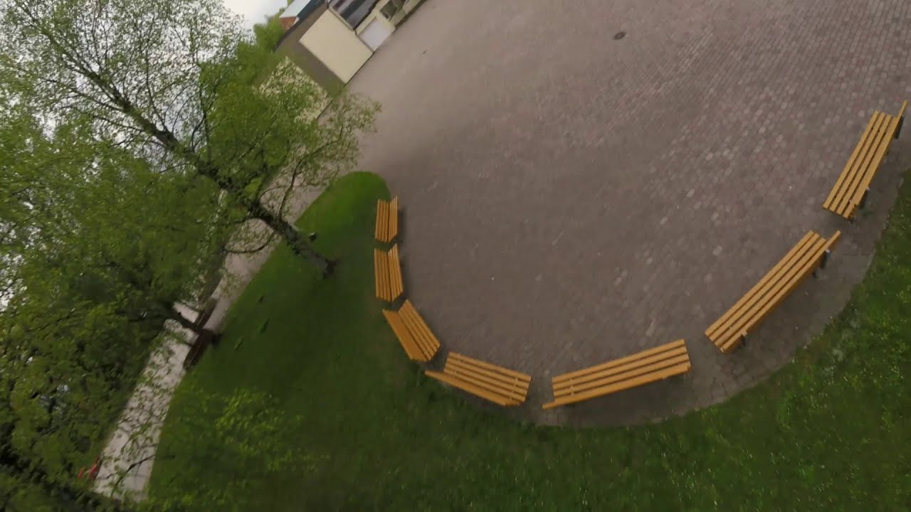 FPV Drone Freestyle (Latvia) ... Small town school фото