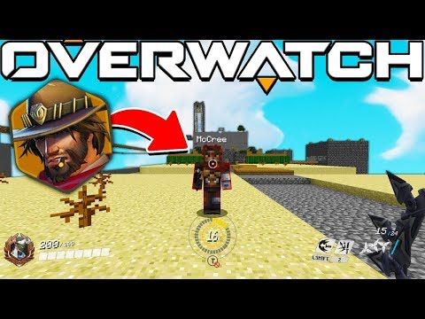 THE MOST OG MINIGAME IN MINECRAFT MEETS OVERWATCH FINALE - MINECRAFT OVERWATCH MOD CTW