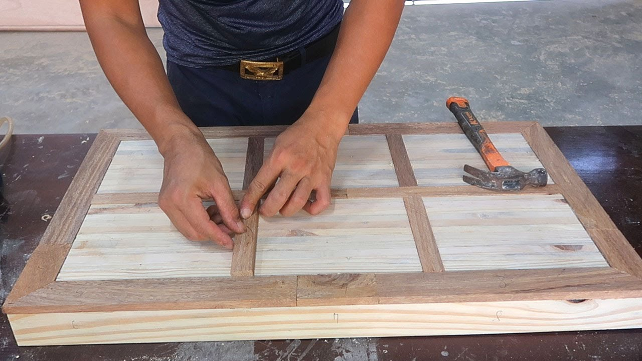 Unique Woodworking Ideas // DIY A Table With A Groundbreaking Design That You Wouldn't Expect