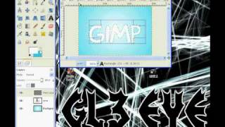 HOW TO MAKE OUTLINE TEXT WITH GiMP