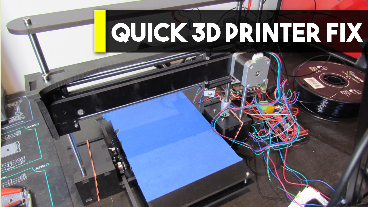 how to fix stringing 3d printer