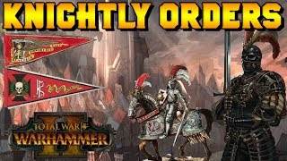 Knightly Orders of the Empire: Black Guard of Morr & Order of the Reiksguard |Total War: Warhammer 2