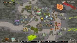 Kingdom Rush for iPad - Rotten Forest walkthrough