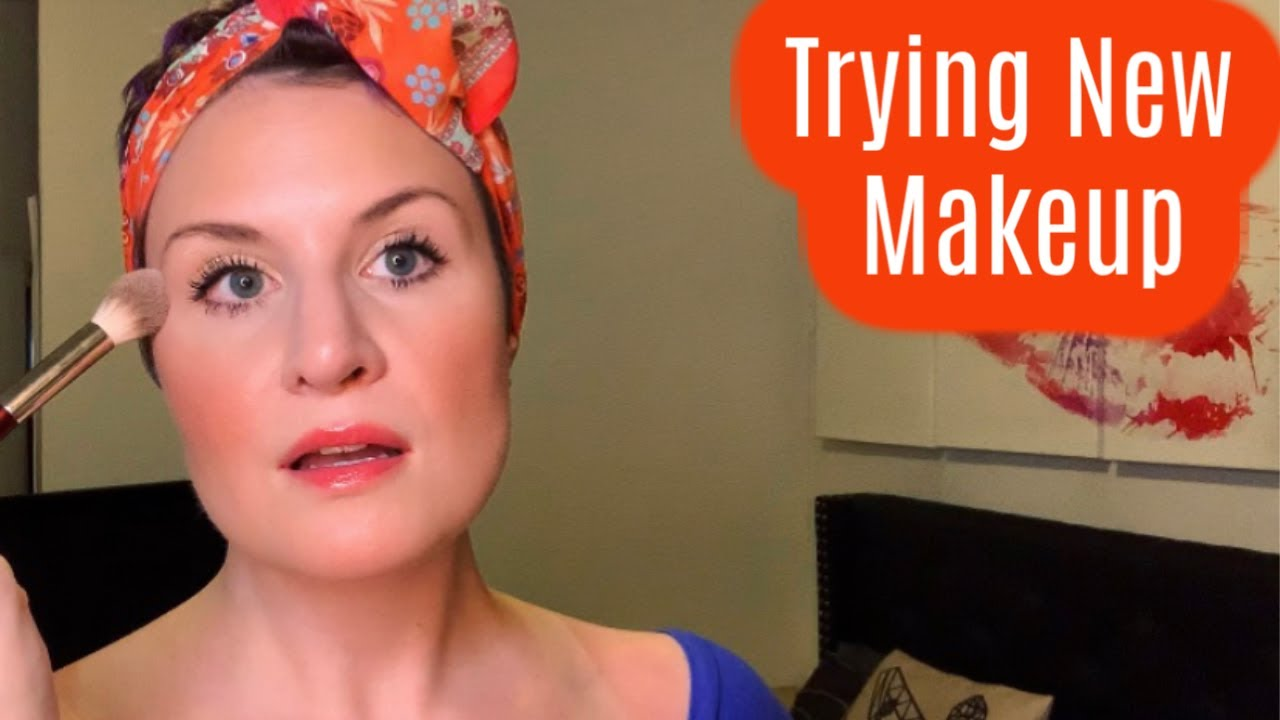 Trying New Makeup | NEW Charlotte Tilbury Setting Spray | Patrick Ta | Tom Ford | Natasha Denona