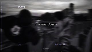 Tie Me Down [Slowed Down To Perfection + Reverb] -  Gryffin Ft. Elley Duhé | 3 AM 🌃